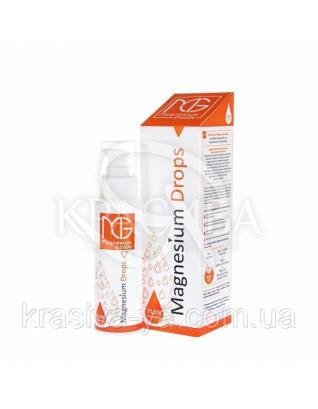 Magnesium Drops - Маниевый концентрат для внутреннего употребления, 100 мл : Органические напитки и соки