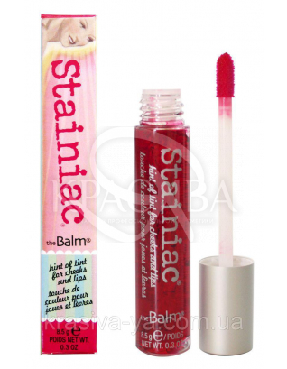 The Balm Stainiac Beauty Queen - Тинт для губ, 8.5 г : Тинт для губ