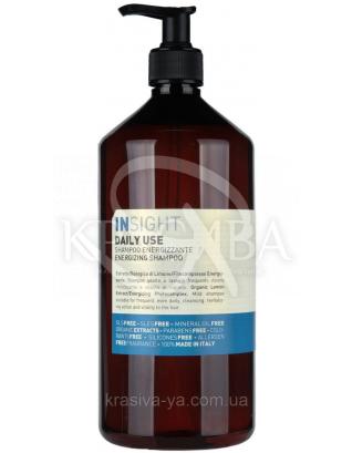 Інсайт енергетичний Шампунь для щоденного догляду за волоссям всіх типів, 400 мл