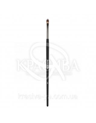 122 Aqua eyeshadow and lip brush, synthetic - Кисть для помад і тіней, синтетика : Nastelle