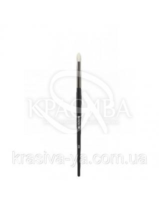 355 Blending and eyeshadow brush, white goat - Кисть для тіней, біла коза : Nastelle