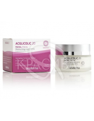 Acglicolic 20 Moisturizing Cream SPF 15 - Зволожуючий крем з SPF 20 15, 50 мл :