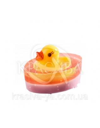 Глицериновое детское мыло Утка / Маленькая игрушка, 60 г : Для детей