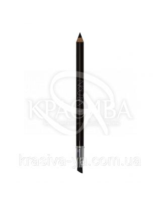 """Косметичний олівець для очей з аплікатором """"Eye Pencil With Applicator"""" 11 чорний, 1.18 р : Nouba"""