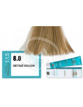 Barex Olioseta ODM - Крем-краска безаммиачная с маслом арганы 8.0 Светлый блондин, 100 мл :