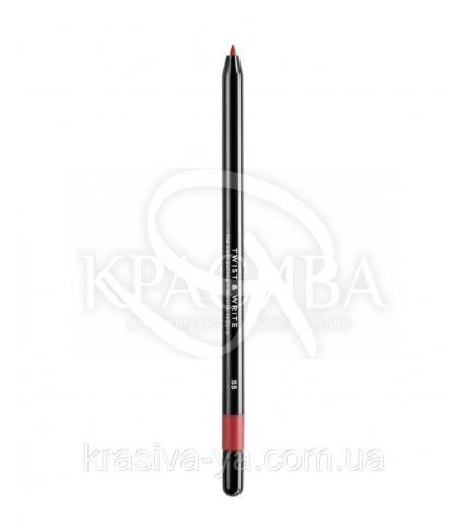 Косметичний водостійкий олівець для губ Twist & Write 55 - 1