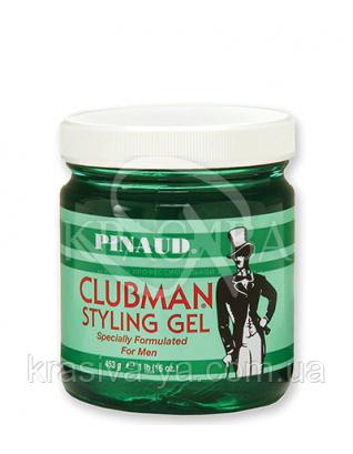 Гель для укладання волосся нормальної фіксації Clubman Styling Gel, 473 г : Clubman