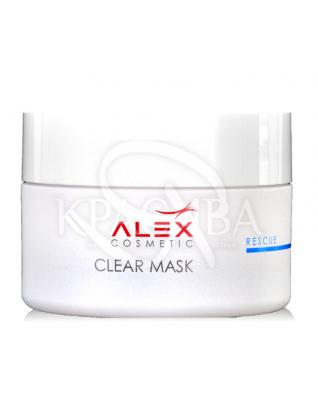 Знімає запалення маска з сіллю мертвого моря для жирної та комбінованої шкіри :