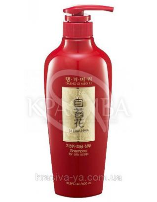 DAENG GI MEO RI Ja Dam Hwa Shampoo for Oily Scalp Шампунь для жирной кожи головы, 500мл