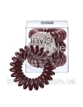 Резинка для волос бордовая, 3шт : Заколки и резинки
