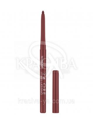 """Стійкий косметичний олівець для губ """"Long Lastin 24 Ore"""" 6 Brown, 0.4 г : Олівець для губ"""