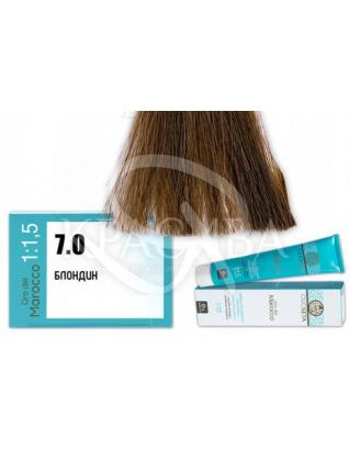 Barex Olioseta ODM - Крем-краска безаммиачная с маслом арганы 7.0 Блондин, 100 мл :