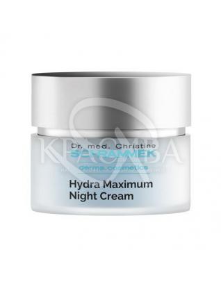 """Hydra Maximum Night Cream Ночной крем """"Максимальное увлажнение"""" с гиалуроновой кислотой, 50 мл : Dr.Schrammek"""