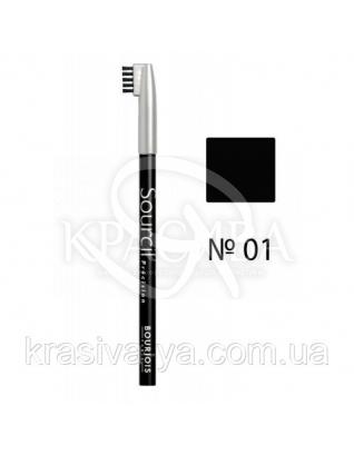 BJ Sourcil Precision - Олівець для брів (01-чорний), 1.13 р : Bourjois