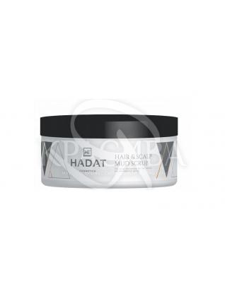 Очищающий скраб с морской солью для волос и кожи головы : Скраб и пилинг для кожи головы