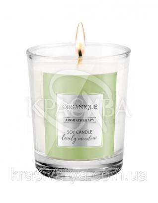 Свічка ароматерапевтична з соєвого воску Lovely Meadow, 180 г : Арома свічки