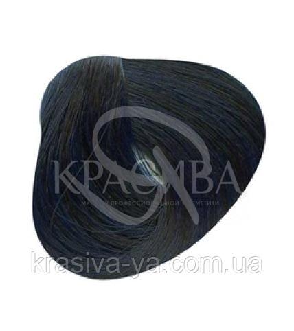 Стойкая крем-краска для волос 1.10 Синий черный, 100 мл - 1