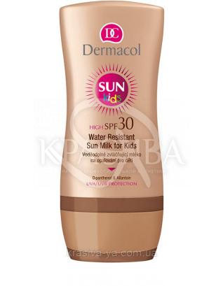 DC SUN Kids Milk Молочко для загара детской кожи SPF 30 водостойкий, смягчающий, 200 мл : Солнцезащитная косметика для детей