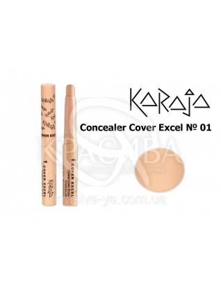 Karaja Коректор - олівець Conceler Cover Excel 01, 2.5 м