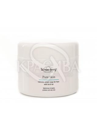 Косметическое крем-мыло для умывания с березовым дегтем : Крем для умывания