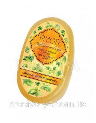 Глицериновое мыло с экстрактом хмеля, 100 г : Мыло