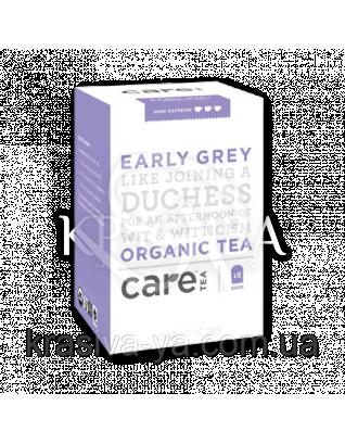 """Care Earl Grey - Чорний чай """"Ерл Грей"""" пакети, 18 шт : Care Tea"""