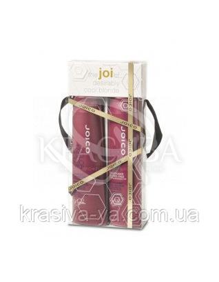Набор подарочный (шампунь + кондиционер фиолетовый для осветленных/седых волос), 300 мл + 300 мл : Beauty-боксы для волос