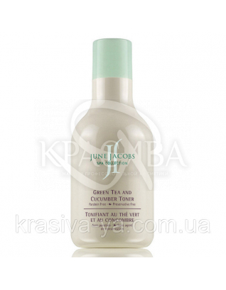 "Green Tea and Cucumber Toner - Тонік ""Зелений чай і огірок"", 200 мл : June Jacobs Laboratories"