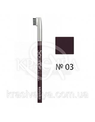 BJ Sourcil Precision - Олівець для брів (03-коричневий), 1.13 р : Bourjois