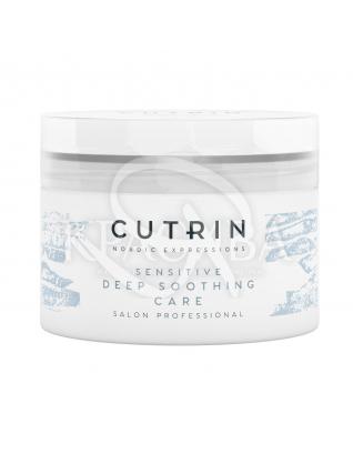 Cutrin Vieno Sensitive Deep Soothing  - Смягчающая маска для чувствительной кожи головы без запаха, 150 мл :