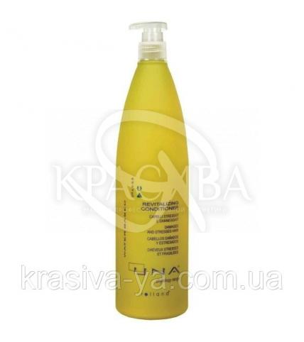 Уна Кондиционер витаминный для поврежденного и ослабленного волоса, 1000 мл - 1