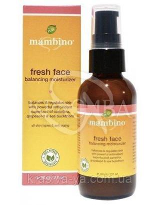 MAM Крем для обличчя зволожуючий / Fresh Face Balancing Moisturizer, 60 мл : Mambino Organics