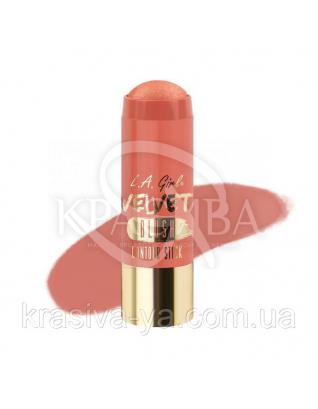 L. A. Girl GCS 590 Velvet Contour Sticks Blush-Glimmer - Оксамитовий контур в стіку, 5.8 м : Хайлайтери