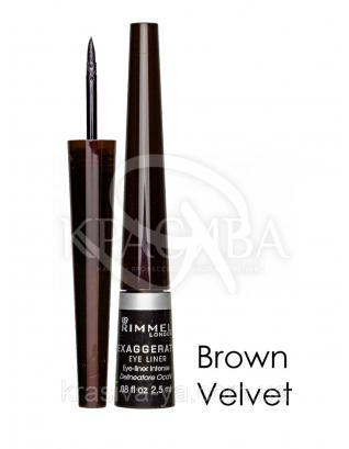 RM Glam'eyes Professional Liquid Liner - Подводка для глаз (Brown Velvet / черный), 3,5 мл : Подводка для глаз