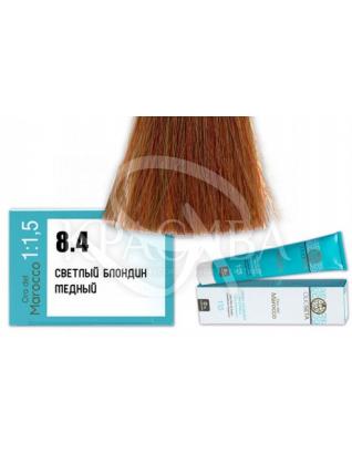 Barex Olioseta ODM - Крем-краска безаммиачная с маслом арганы 8.4 Светлый блондин медный, 100 мл :