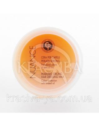 Nuance CP Воск-блеск с жемчужной пудрой сильной фиксации, 100 мл : Воск для волос