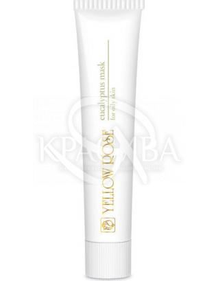 Лікувальна маска з евкаліптом для жирної шкіри з акне : Yellow Rose
