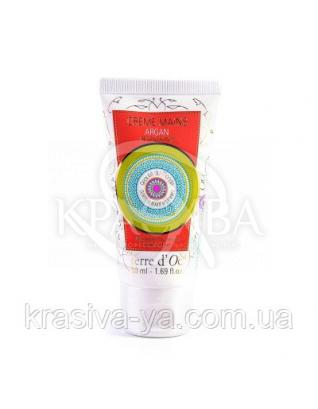 """TdO Відновлюючий крем для рук """"Арганія"""" / Regenerating Argan Hand Cream, 50 мл : Terre d'Oc"""