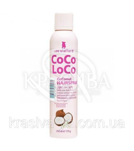 Фиксирующий спрей для волос Coco Loco Coconut Hairspray, 250 мл - 1