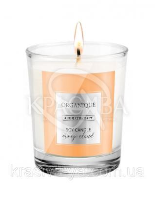 Свічка ароматерапевтична з соєвого воску Orange Island, 180 г : Арома свічки