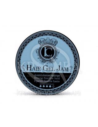 Hair Gel Jam Strong Flexible Hold Гель для стайлінгу волосся сильної еластичної фіксації, 150 мл :