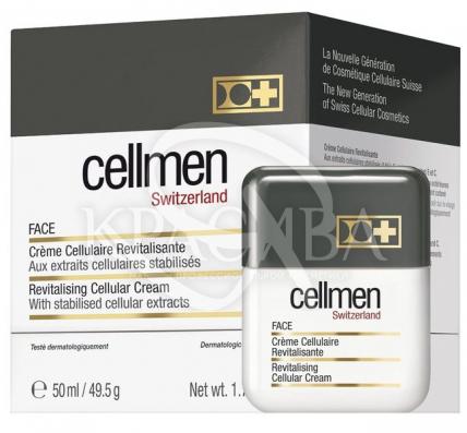 Ревитализирующий клеточный крем для лица для мужчин - 2