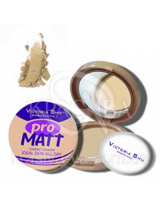 VS Pro Matt Powder Пудра компактна матирующа 424, 8 г : Пудра для обличчя