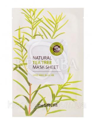 "The Saem Natural Sheet - Тканинна маска з натуральним екстрактом ""Чайне дерево"", 20 мл : The Saem"