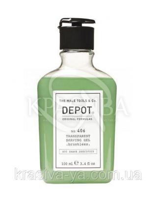 406 Гель прозрачный для бритья, 100 мл : Мужские средства для бритья
