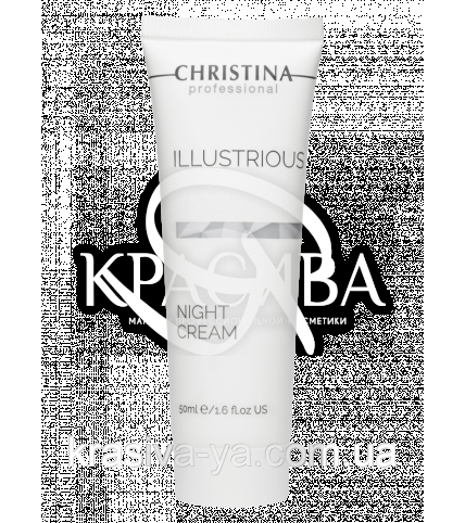 Illustrious Night Cream Обновляющий ночной крем для лица, 50 мл - 1
