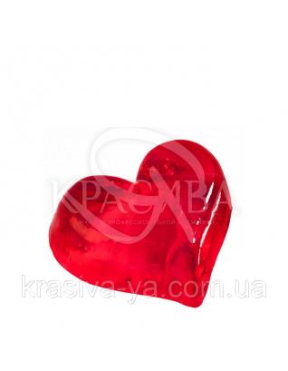 Глицериновое мыло - Середина Сердца (чисто красное), 55 г : Мыло