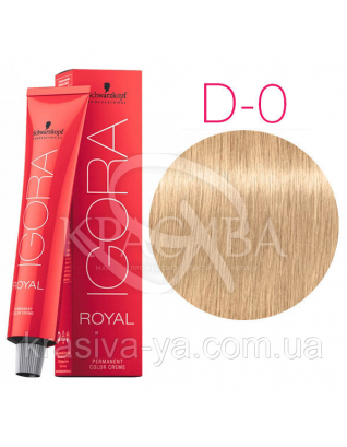 Igora Royal Mixtones - Крем-краска для волос D-0 Пастельный натуральный, 60 мл