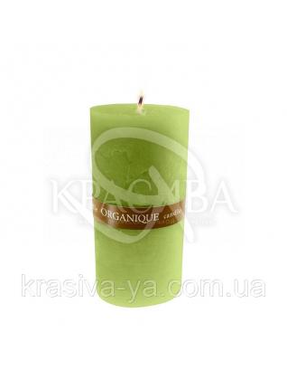 Свічка ароматерапевтична середня 75*75 - Грецький (Зелений), 235 г : Декор для дому