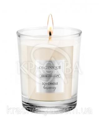 Свічка ароматерапевтична з соєвого воску Harmony, 180 г : Арома свічки